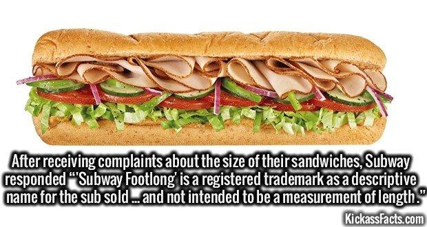 1384 Subway Footlong