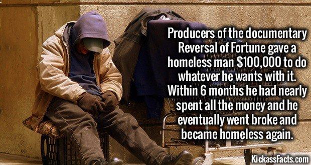 1705 Homelessman $100000