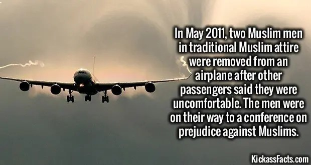 1709 Muslims on Plane