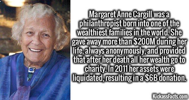 1715 Margaret Anne Cargill