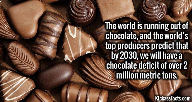1786 Chocolate Shortage