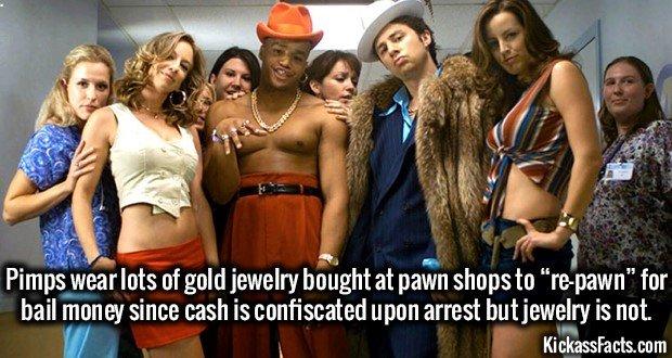 1787 Pimps Wearing Gold