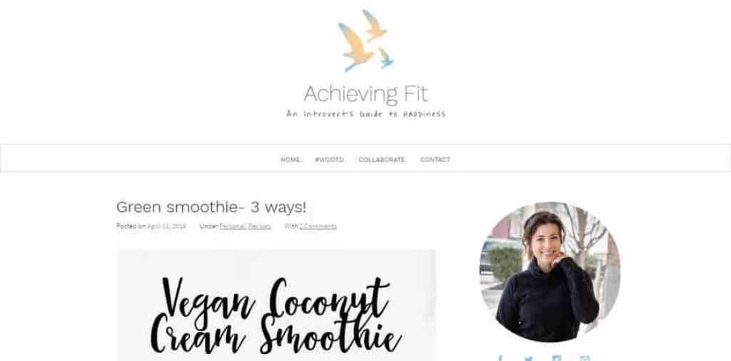 Achieving Fit