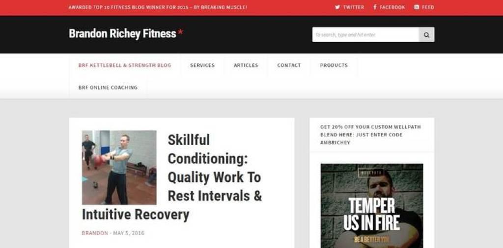 Brandon Richey Fitness