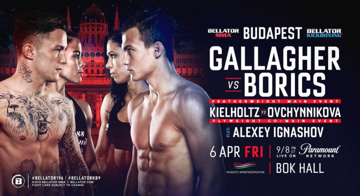 Bellator Fight Poster