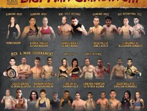 Cali 30 Fight Poster