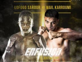 Sarour Karroumi Fight Poster