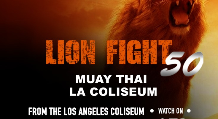 Lion Fight 50 Poster