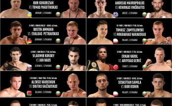 KOK World Series Vilnius Poster