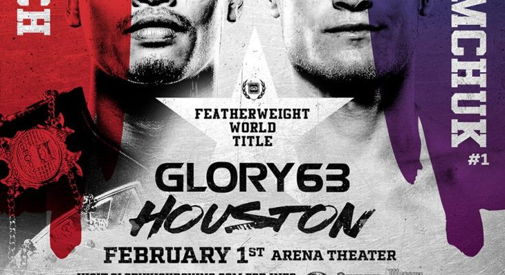 GLORY 63 Houston Poster
