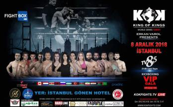 KOK Istanbul Fight Poster