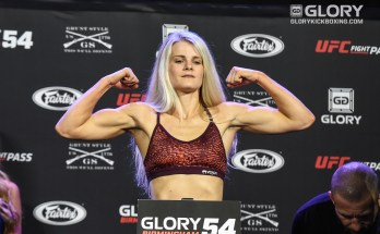 Brereton Glory 54 Weigh-In