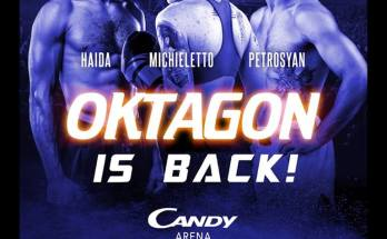 Oktagon 2019 Fight Poster