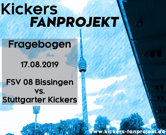 Auswärtsfragebogen zum Spiel am 17.08.2019 gegen FSV 08 Bissingen