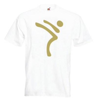 Kicking Man BIG Logo gold-on-WHITE-2R