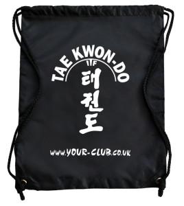 Taekwondo personalised bag