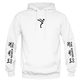ITF-tkd-black-on-white-hoodies-front