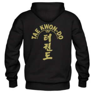 ITF-tkd-gold-on-black-hoodies-back