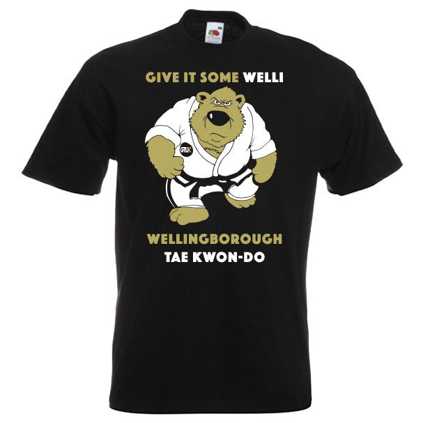 Wellingborough Taekwondo t-shirts