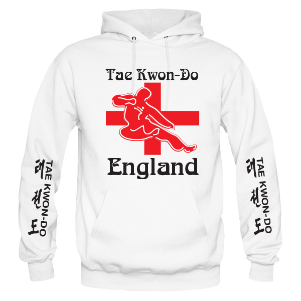 customise any Hoodie England ITF Taekwondo