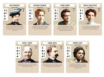 Possible Luminary Cards. Photo Credit: Tesla vs. Edison: Powering Up! Kickstarter campaign page