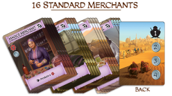 Merchant Cards. Photo Credit Merchants of Araby Kickstarter campaign page