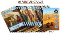 Virtue Cards. Photo Credit Merchants of Araby Kickstarter campaign page