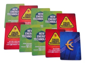 Investment Cards. Photo Credit: Game of Energy Kickstarter campaign page