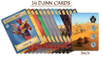 Djinn Cards. Photo Credit Merchants of Araby Kickstarter campaign page