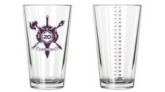 Twenty-Sided Pint. Photo Credit: Loaded Dice Kickstarter campaign page