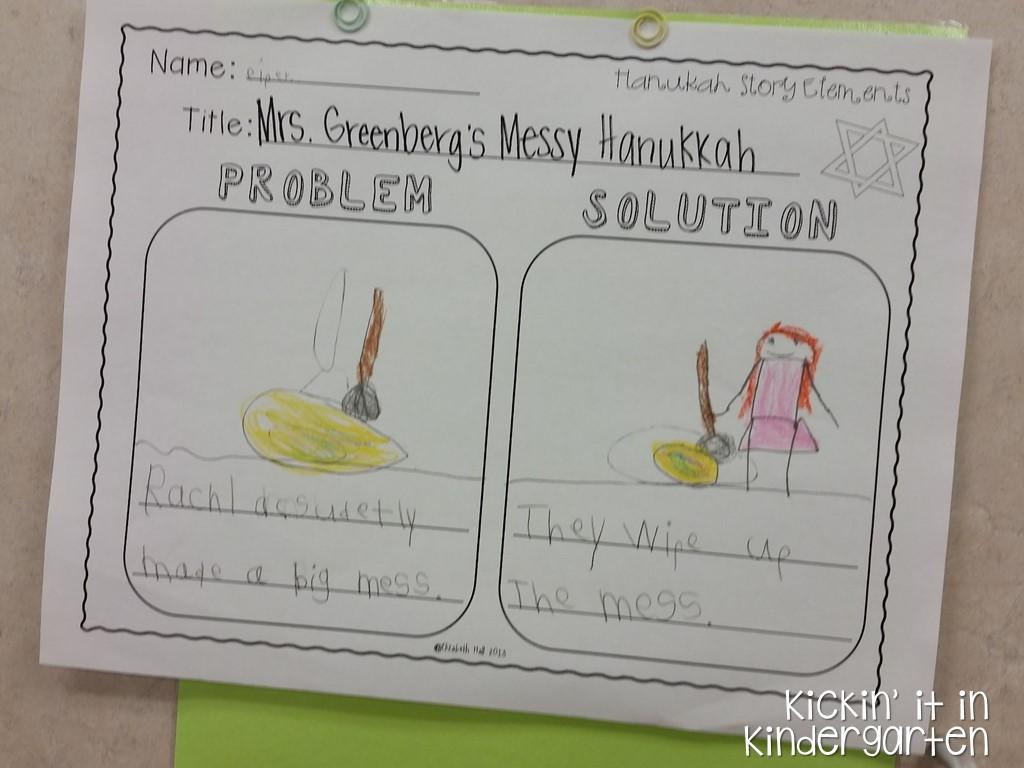 Kindergarten Hanukkah Happenings