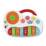KiddoLab Toys For Babies & Toddlers #ad #kiddolab #babytoys #toddlertoys #rattles #interactivetoys #babypiano #dinosaurtoy