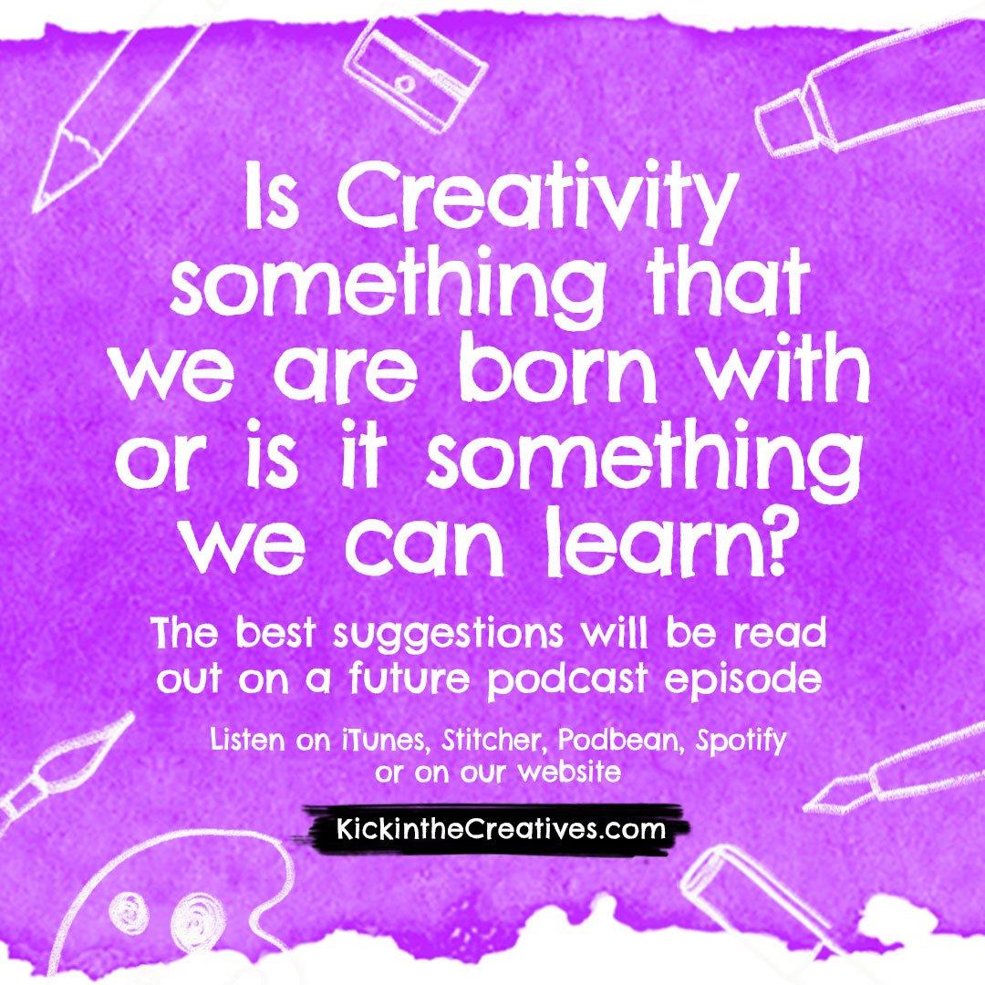 Creativity Question