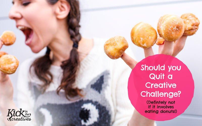 Quit creative challenge