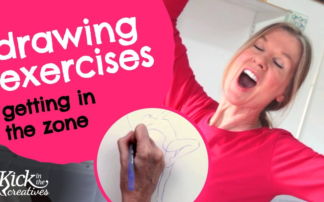 Art Kick Sunday – Drawing Exercises to Warm Up and Get in the Zone