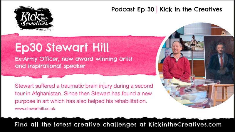 ep30 podcast Artist Stewart Hill