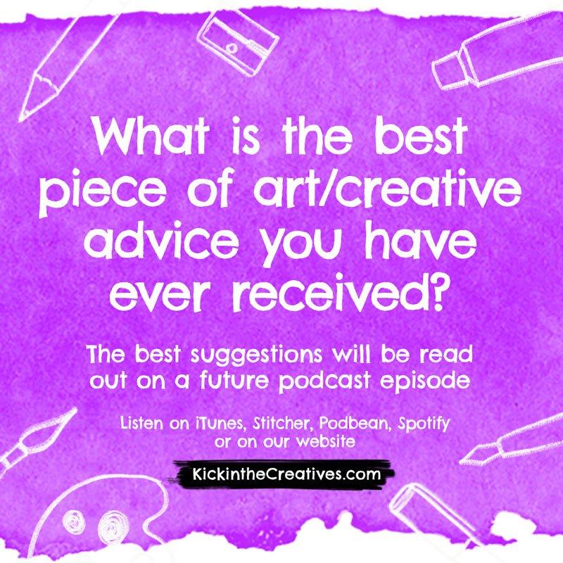 best creative advice question