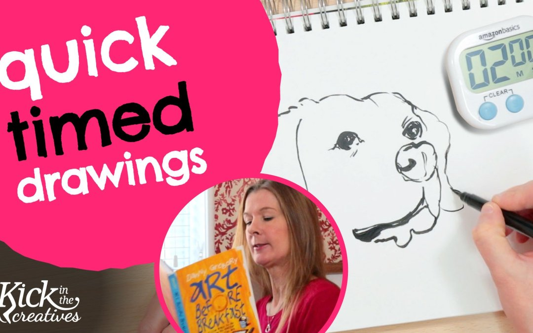 Sketching with Limited Time (Timed Drawing Practice Exercise) – Art Kick Sunday