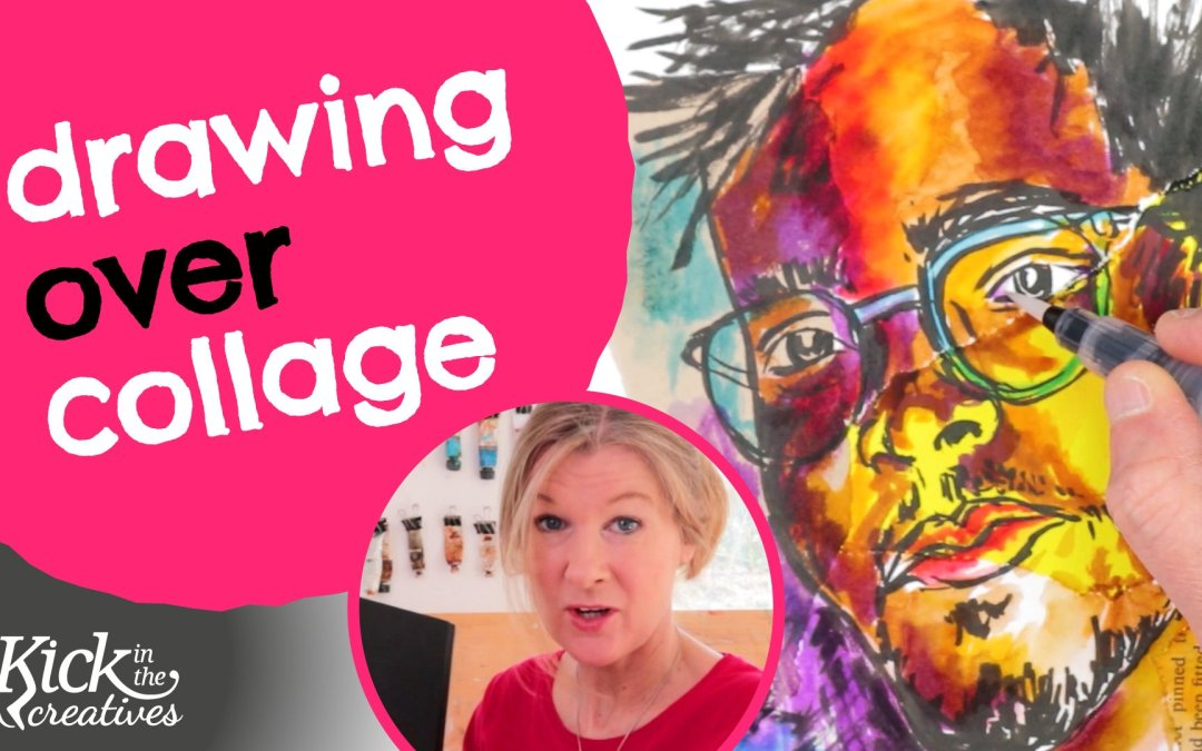 Collage Drawing Ideas to Make a Sketch More Interesting – Art Kick Sunday