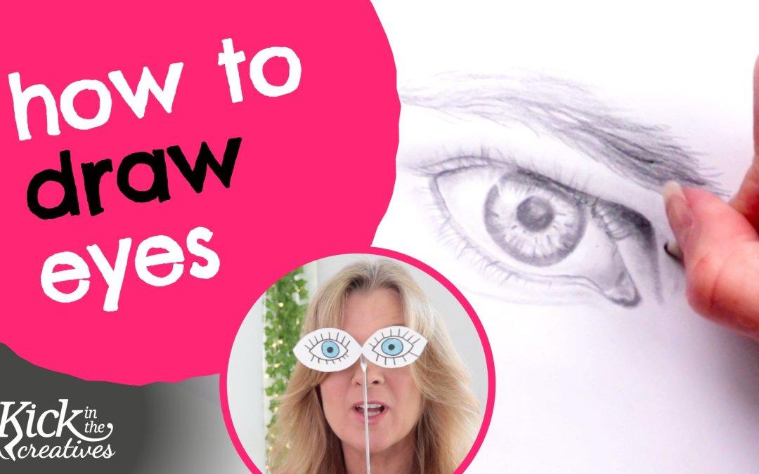 Eye Drawing Tutorial for Beginners Pencil – Art Kick Sunday