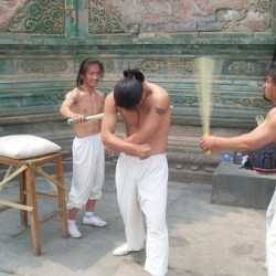 body hardening by beating