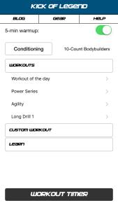KoL Kickboxing App Fitness First