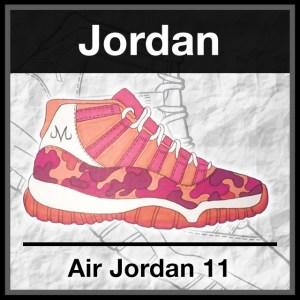 official photos abe35 28017 FREE Sneaker Stencils - KicksArt