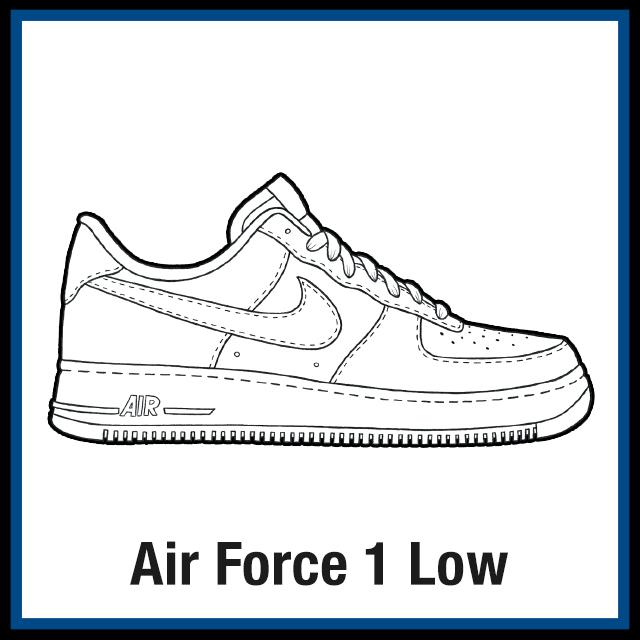Nike Air Force 1 Low KicksArt