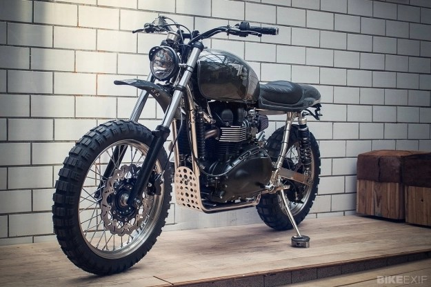Triumph Scrambler 900 Built By The German Work Kingston Custom