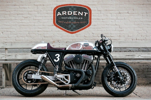 Harley Sportster café racer by Ardent Motorcycles