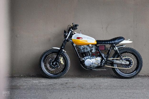 Yamaha Sr500 Scrambler Built By Chicago Photographer Daniel Peter