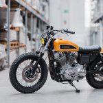 Slam Dunk A Lowered Sportster 883 From Hombrese Bike Exif