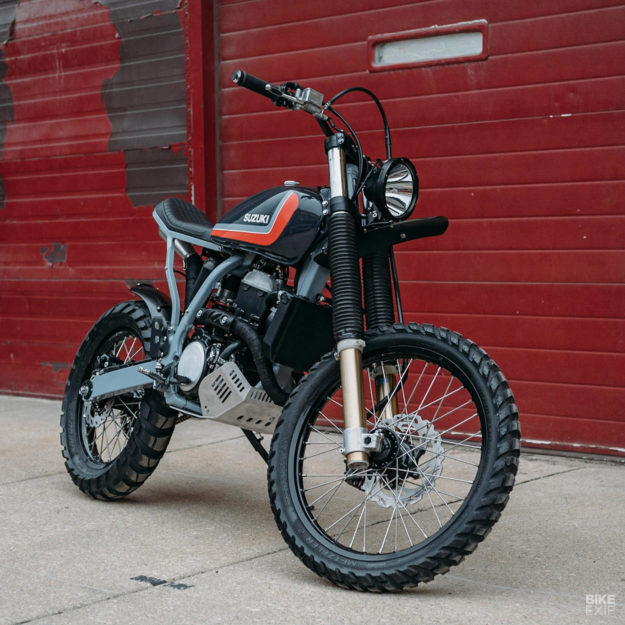 dr z400 for the streets of chicago