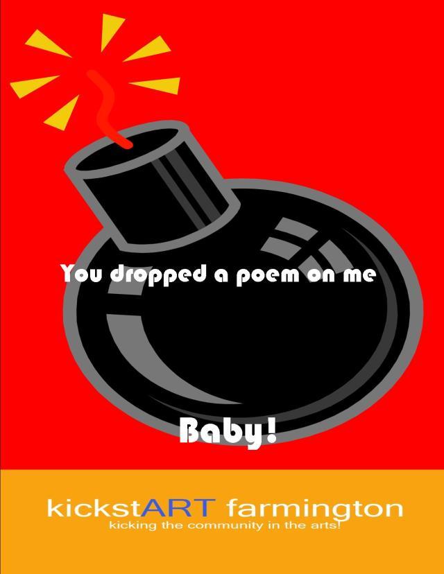 Poetry Bombing1